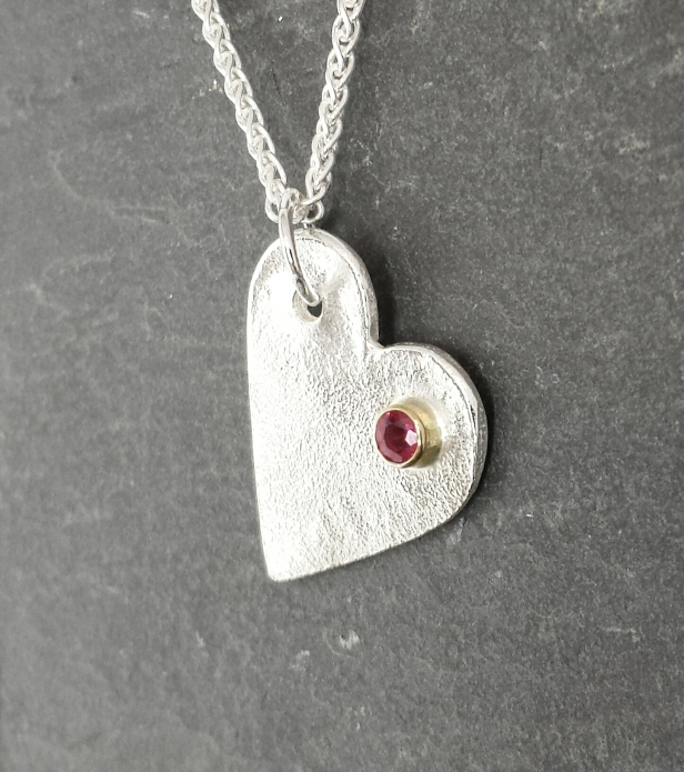 ...reticulated ruby pendant...